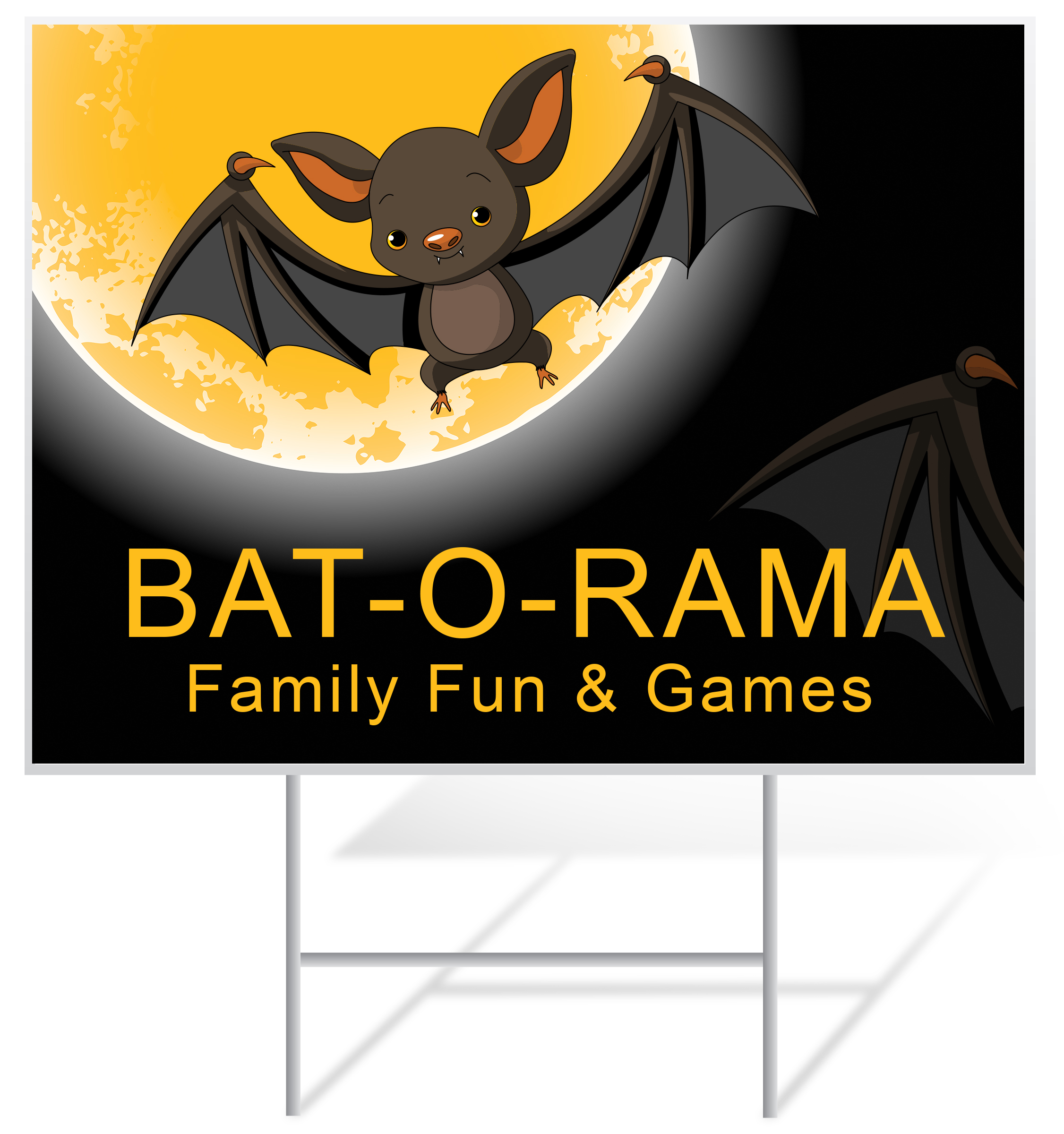 4 mm Corrugated Plastic Signs for Halloween | Digital Print Solutions