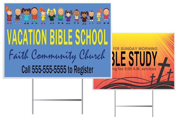 Wholesale Church Yard Signs | Digital Print Solutions