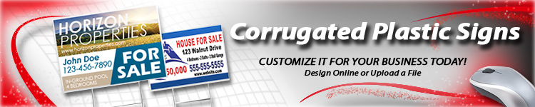 Wholesale Corrugated Plastic Yard Signs | Digital Print Solutions
