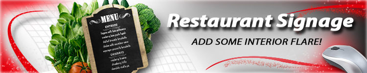 Restaurant Signage for Wholesale | Digital Print Solutions