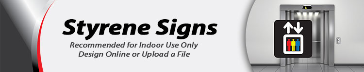 Wholesale Styrene Signs | Digital-Print-Solutions.com