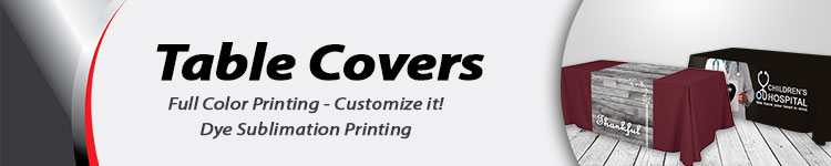 Wholesale Table Covers | Digital-Print-Solutions.com