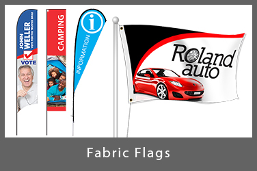 Custom Fabric Flags | Digital Print Solutions