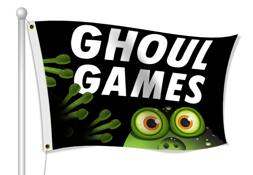 Fabric Flags for Halloween - Resellers Only | Digital Print Solutions