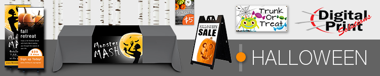Halloween Signage Ideas for Resellers | Digital Print Solutions