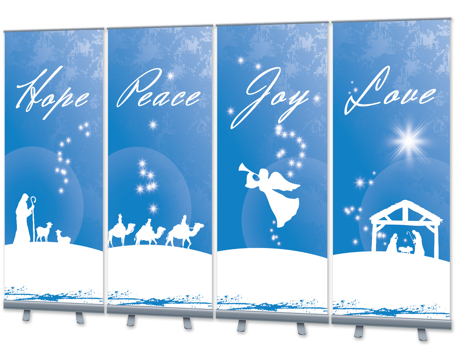 Wholesale Christmas Signage - Banner Stands - Digital Print Solutions