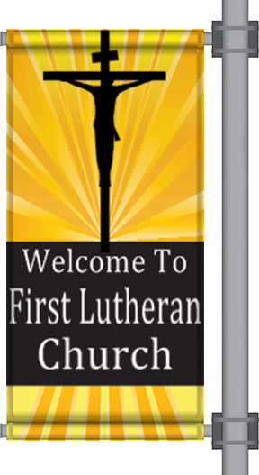 Wholesale Church Pole Banners | Digital Print Solutions