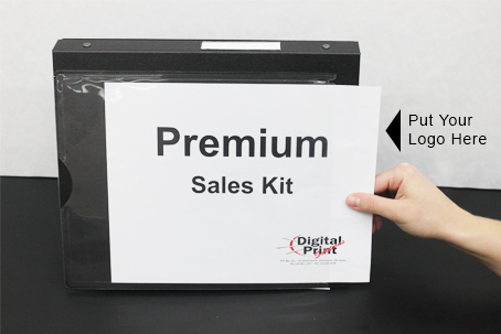 Premium Sales Kit - Add your Logo | Digital Print Solutions