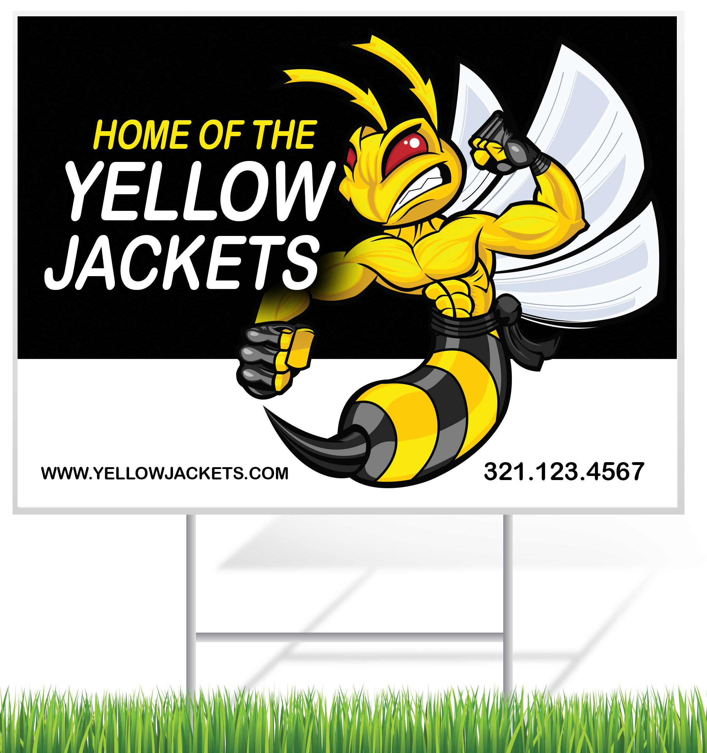 4 mm Corrugated Plastic Signs for Sports Teams | Digital Print Solutions