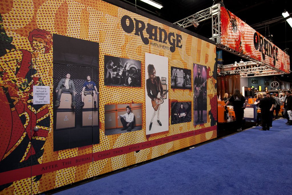 Wall Graphics used for a Trade Show Booth