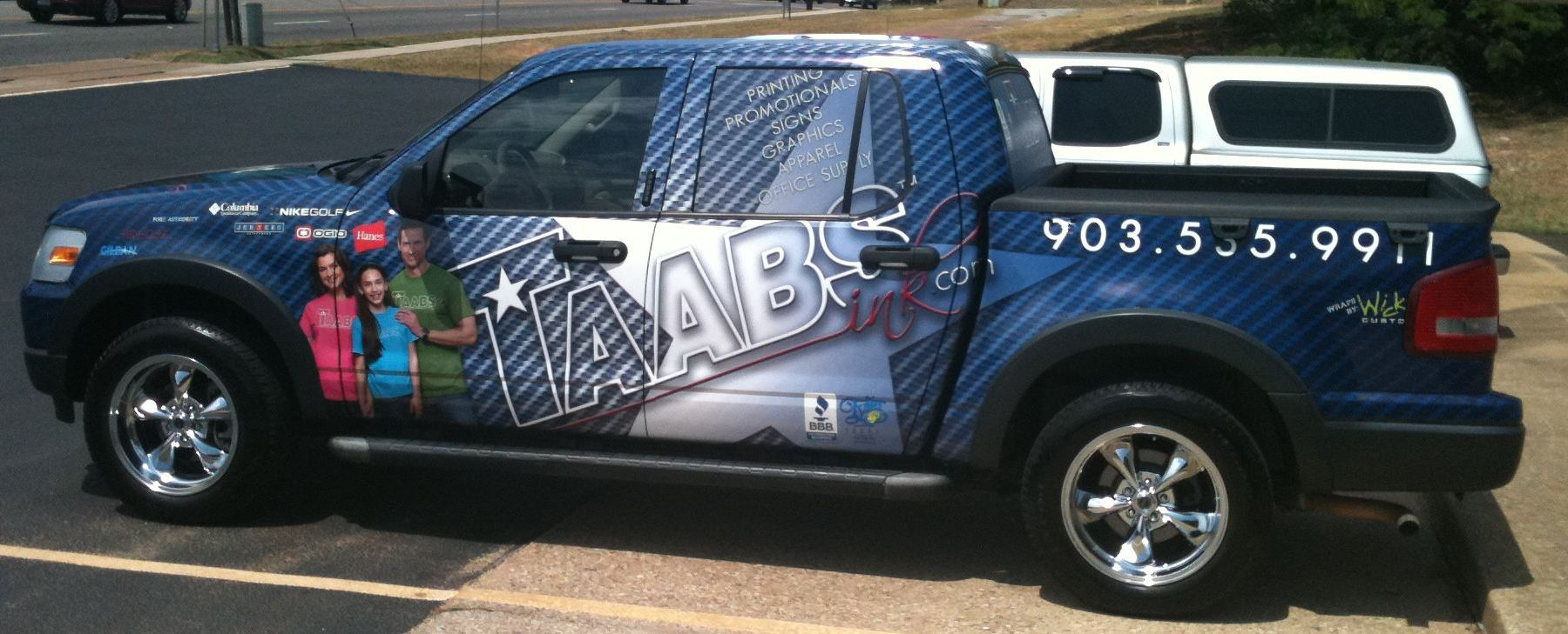 TAABS 3M Control Tac Vehicle Wrap