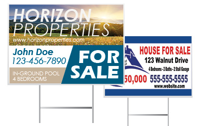 Wholesale Yard Sign Printing from Digital Print Solutions